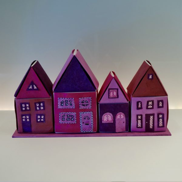 Huisjesrij Pink